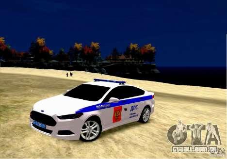 Ford Mondeo Russian Police para GTA 4