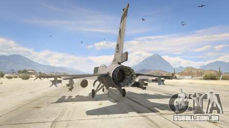 GTA 5 F-16C Block 52 terceiro screenshot