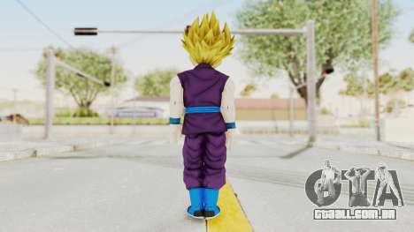 Dragon Ball Xenoverse Gohan Teen DBS SSJ2 v1 para GTA San Andreas terceira tela