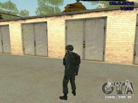 Modern Russian Soldiers pack para GTA San Andreas sétima tela