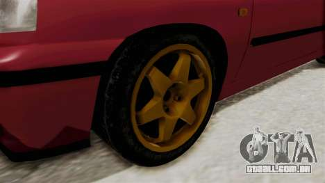 Renault Clio Williams para GTA San Andreas vista traseira