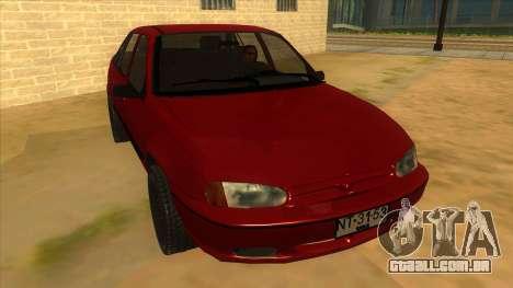 Daewoo Racer GTI para GTA San Andreas vista traseira