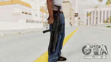 MP5SD with Grenade Launcher para GTA San Andreas terceira tela