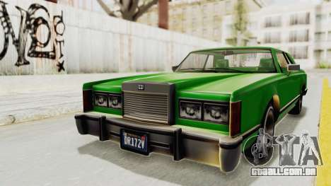 GTA 5 Dundreary Virgo Classic Custom v1 para GTA San Andreas vista direita