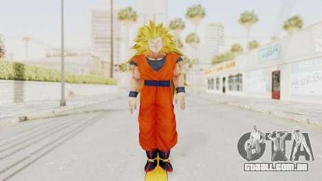 Dragon Ball Xenoverse Goku SSJ3 para GTA San Andreas segunda tela