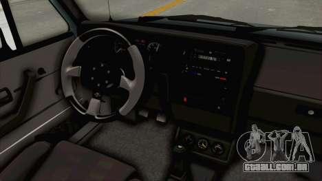Volkswagen Golf 1 Cabrio VR6 para GTA San Andreas vista interior
