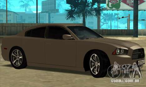 Dodge Charger para GTA San Andreas vista direita