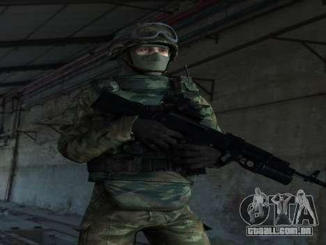 Modern Russian Soldiers pack para GTA San Andreas segunda tela