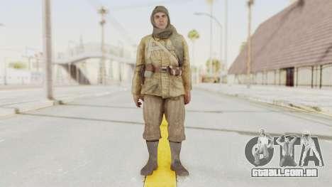COD BO Nikholai para GTA San Andreas segunda tela