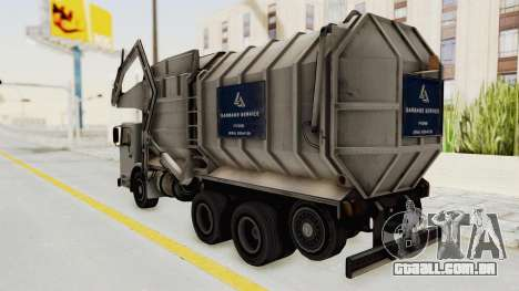 New Trashmaster para GTA San Andreas vista direita