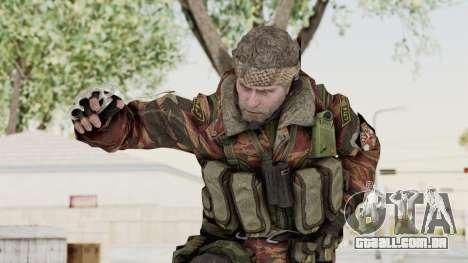 Battery Online Russian Soldier 2 para GTA San Andreas