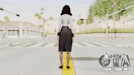 Bioshock Infinite Burial at Sea Elizabeth para GTA San Andreas terceira tela