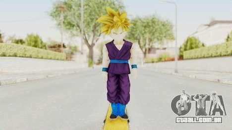 Dragon Ball Xenoverse Gohan Teen DBS SSJ1 v1 para GTA San Andreas segunda tela