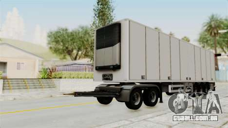 Volvo FM Euro 6 6x4 Tandem v1.0 Trailer para GTA San Andreas vista direita