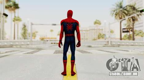 Marvel Future Fight - Spider-Man (Civil War) para GTA San Andreas terceira tela