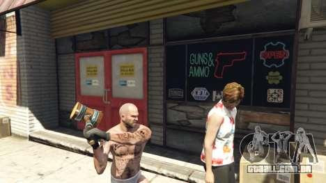GTA 5 Wooden Fantasy Hammer segundo screenshot