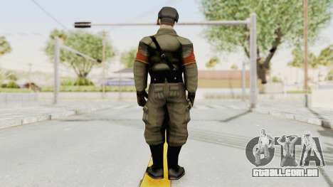 Russian Solider 1 from Freedom Fighters para GTA San Andreas terceira tela