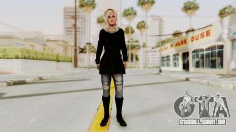 Iranian Girl Skin para GTA San Andreas segunda tela