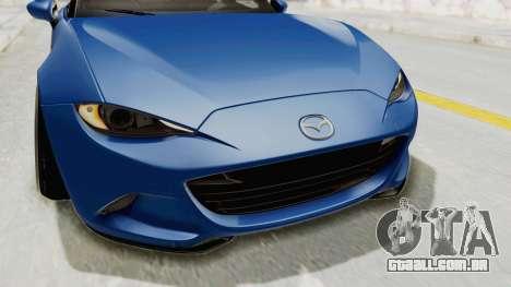 Mazda MX-5 Slammed para GTA San Andreas vista superior