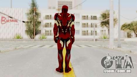 Captain America Civil War - Iron Man para GTA San Andreas terceira tela