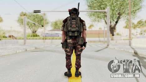 Battery Online Russian Soldier 4 para GTA San Andreas terceira tela