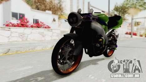 Kawasaki Ninja ZX-9R Drag para GTA San Andreas