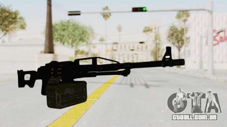 PKM 7.62mm Battlezone Mod para GTA San Andreas