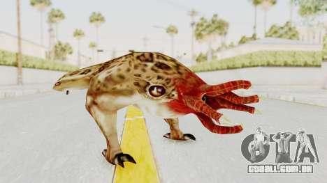 Bullsquid from Half-Life 1 para GTA San Andreas segunda tela