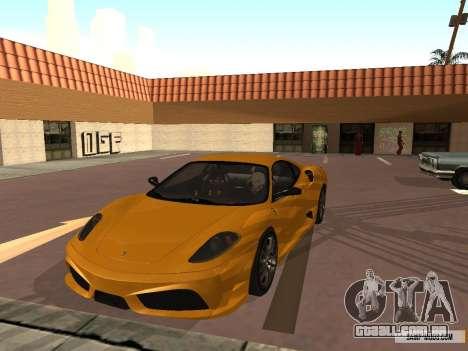 Ferrari F430 Scuderia BULKIN EDITION para GTA San Andreas esquerda vista