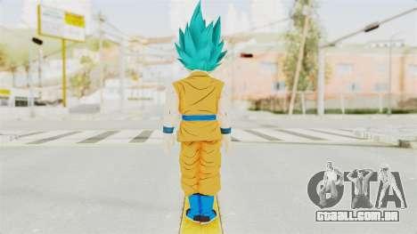 Dragon Ball Xenoverse Gohan Teen DBS SSGSS v2 para GTA San Andreas terceira tela