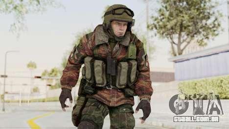Battery Online Russian Soldier 9 v1 para GTA San Andreas