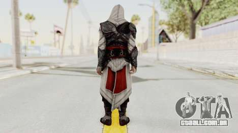 AC Brotherhood - Ezio Auditore Seusenhofer Armor para GTA San Andreas terceira tela