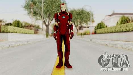 Captain America Civil War - Iron Man para GTA San Andreas segunda tela