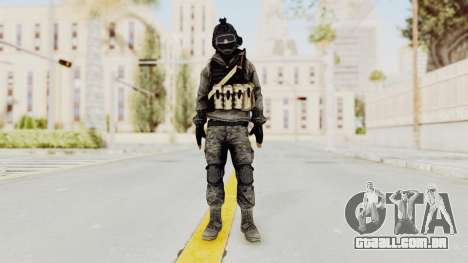 Battlefiled 3 Russian Medic para GTA San Andreas segunda tela