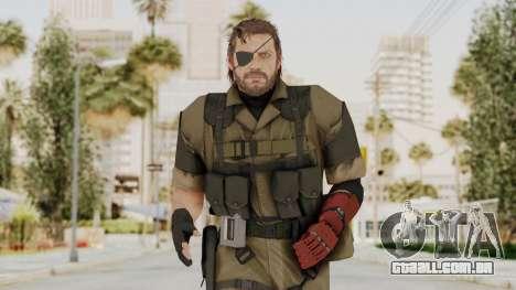 MGSV The Phantom Pain Venom Snake Olive Drab para GTA San Andreas