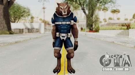 Marvel Future Fight - Warwolf para GTA San Andreas segunda tela