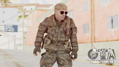 COD BO SOG Hudson v2 para GTA San Andreas