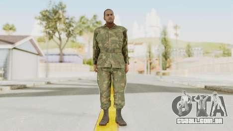 MGSV Ground Zeroes US Soldier No Gear v1 para GTA San Andreas segunda tela