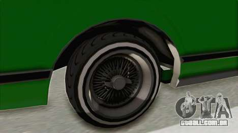 GTA 5 Dundreary Virgo Classic Custom v1 para GTA San Andreas vista traseira