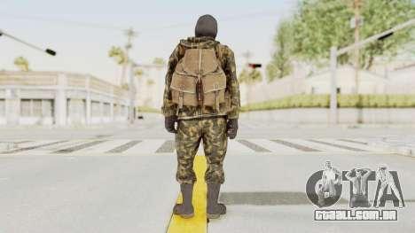 COD Black Ops Russian Spetznaz v5 para GTA San Andreas terceira tela