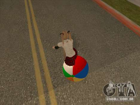 Beachball para GTA San Andreas vista direita