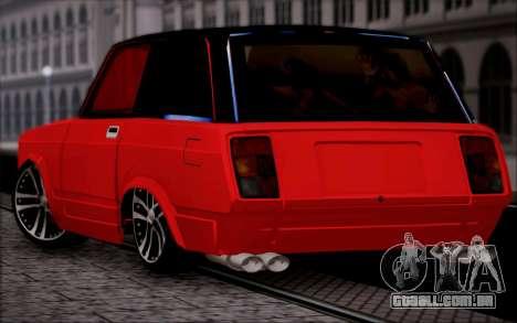 VAZ 2104 Micro para GTA San Andreas esquerda vista