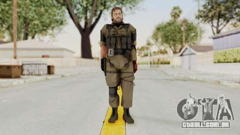 MGSV The Phantom Pain Venom Snake No Eyepatch v1 para GTA San Andreas segunda tela