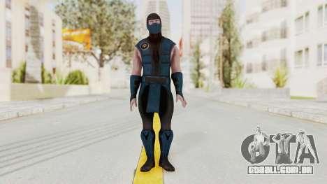 Mortal Kombat X Klassic Sub Zero v1 para GTA San Andreas segunda tela