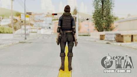 Phantomers Linda Sashantti para GTA San Andreas terceira tela