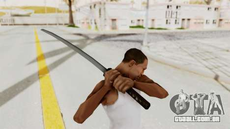 Liberty City Stories - Katana para GTA San Andreas terceira tela