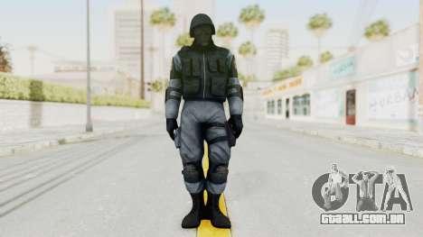 Batman Arkham Origins Swat para GTA San Andreas segunda tela