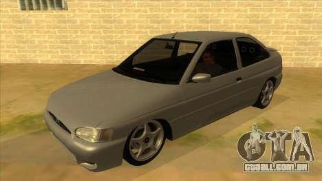 Ford Escort V2 para GTA San Andreas