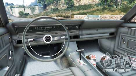 GTA 5 Ford Fairlane 500 1966 v1.1 traseira direita vista lateral
