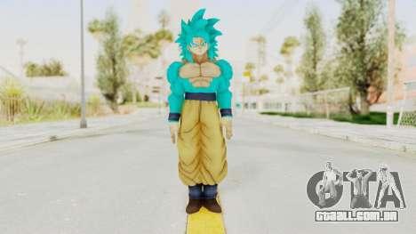Dragon Ball Xenoverse Goku SSJ4 SSGSS para GTA San Andreas segunda tela